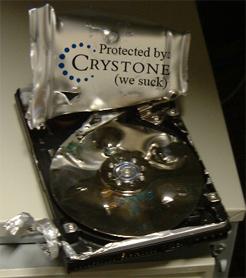 Crystones backuppförmåga